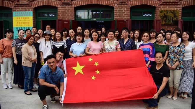 中华工学会旧址重温党的传统 再颂入党誓言