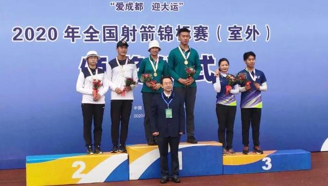 辽宁省射箭锦标赛大连摘得14枚金牌