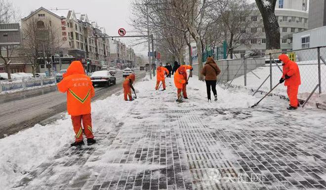 累计出动7000余人次 西岗区全力除雪保畅通