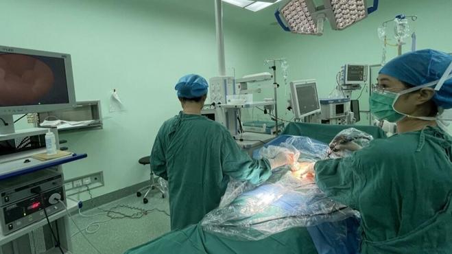 大连市妇儿集团:成功完成大连市首例胎儿镜手术